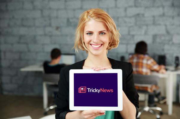 Sample branding #1 for Trickynews