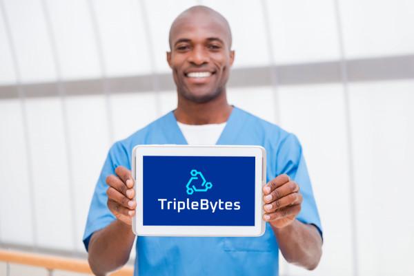 Sample branding #1 for Triplebytes