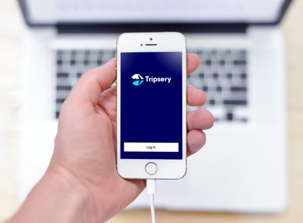 Sample branding #2 for Tripsery