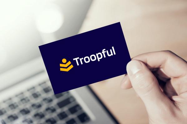 Sample branding #3 for Troopful