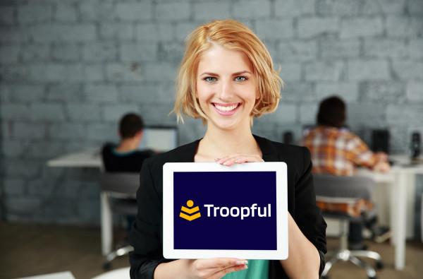 Sample branding #2 for Troopful