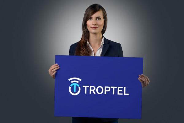 Sample branding #1 for Troptel