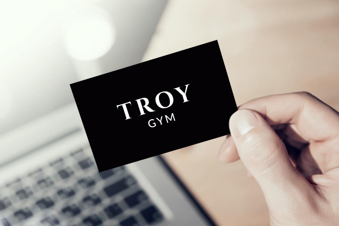 Sample branding #2 for Troygym