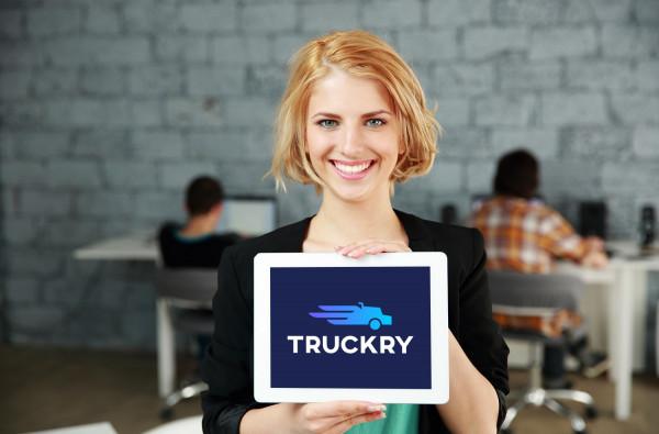 Sample branding #2 for Truckry