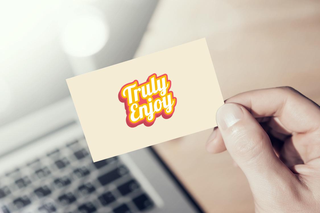 Sample branding #2 for Trulyenjoy