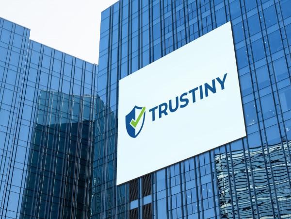 Sample branding #1 for Trustiny