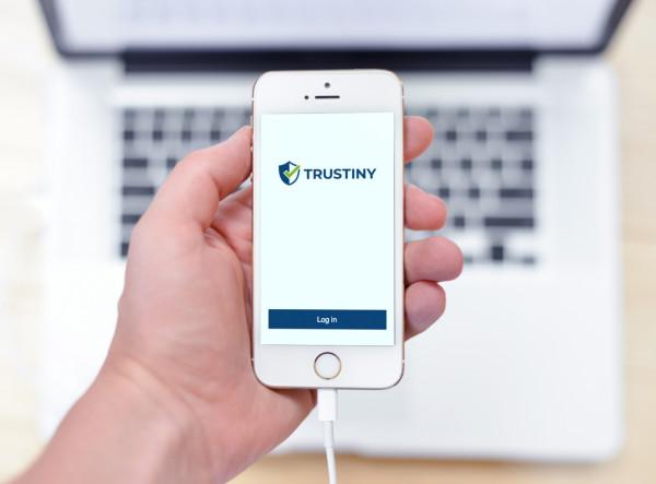Sample branding #2 for Trustiny