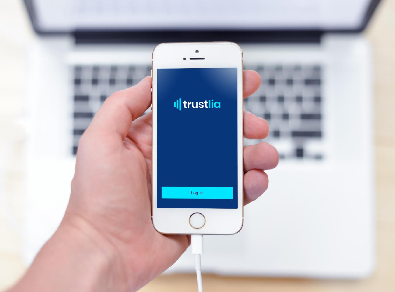 Sample branding #1 for Trustlia