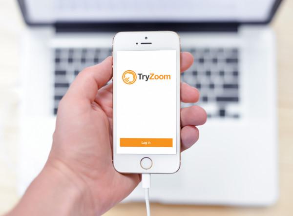 Sample branding #2 for Tryzoom