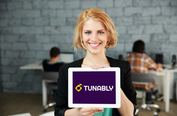 Sample branding #2 for Tunably