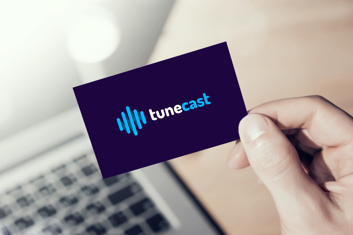 Sample branding #2 for Tunecast