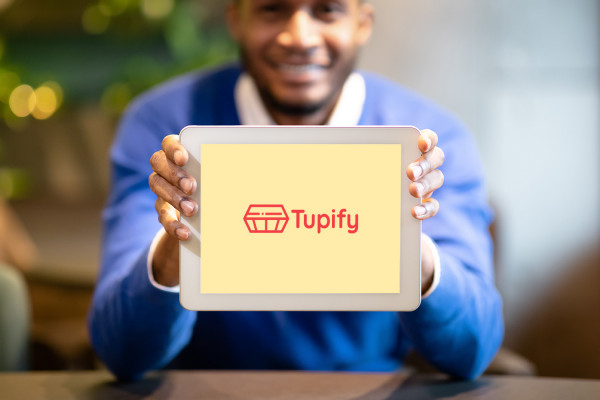 Sample branding #2 for Tupify