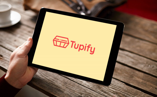 Sample branding #3 for Tupify