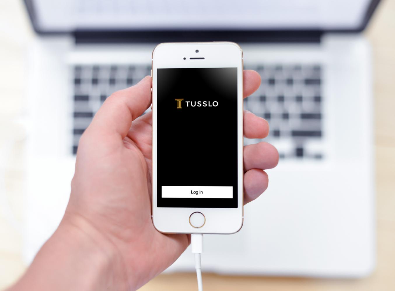 Sample branding #1 for Tusslo