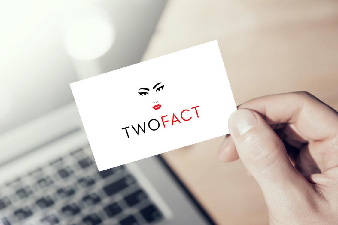 Sample branding #2 for Twofact