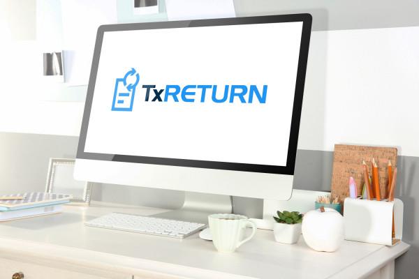 Sample branding #3 for Txreturn