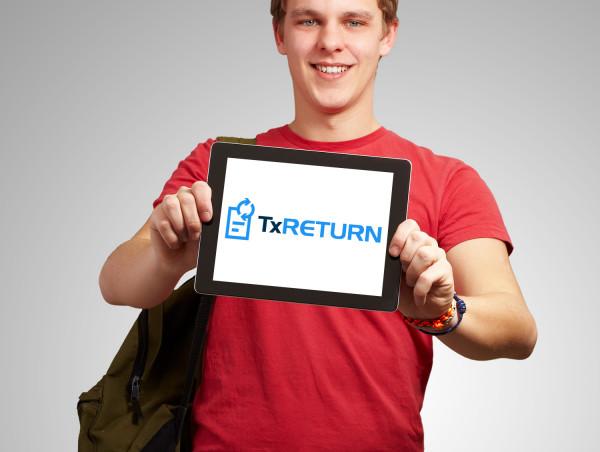 Sample branding #2 for Txreturn