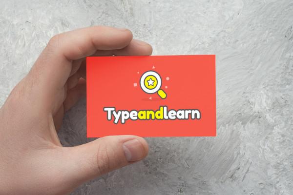 Sample branding #3 for Typeandlearn