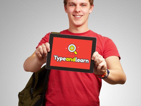 Sample branding #2 for Typeandlearn