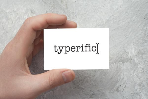 Sample branding #1 for Typerific
