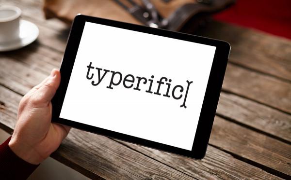 Sample branding #2 for Typerific