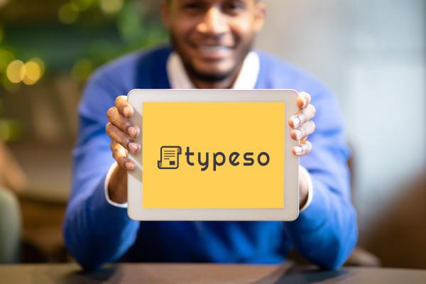 Sample branding #1 for Typeso