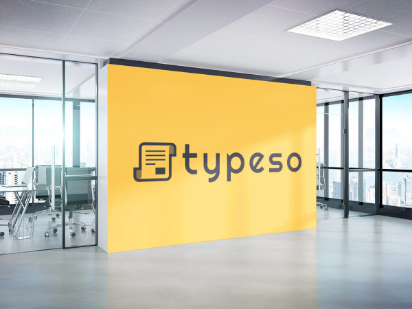 Sample branding #3 for Typeso