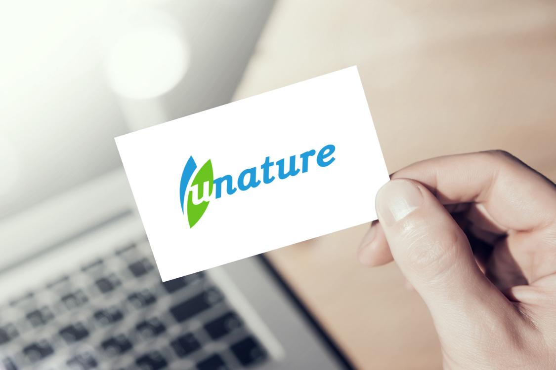 Sample branding #3 for Unature