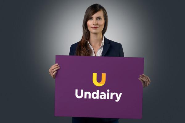 Sample branding #2 for Undairy