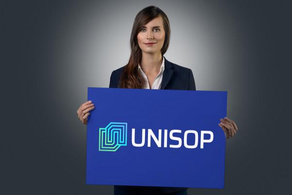 Sample branding #2 for Unisop
