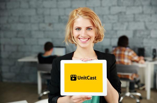 Sample branding #1 for Unitcast