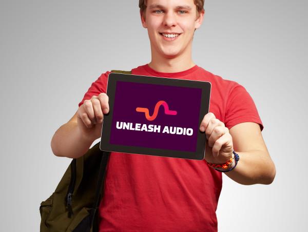 Sample branding #2 for Unleashaudio