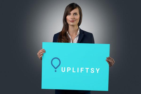 Sample branding #1 for Upliftsy