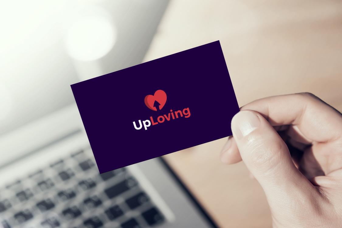Sample branding #2 for Uploving