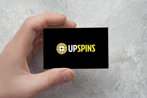 Sample branding #2 for Upspins