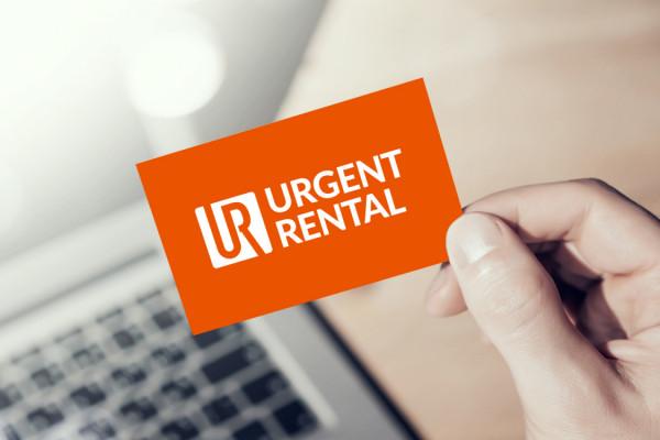 Sample branding #2 for Urgentrental