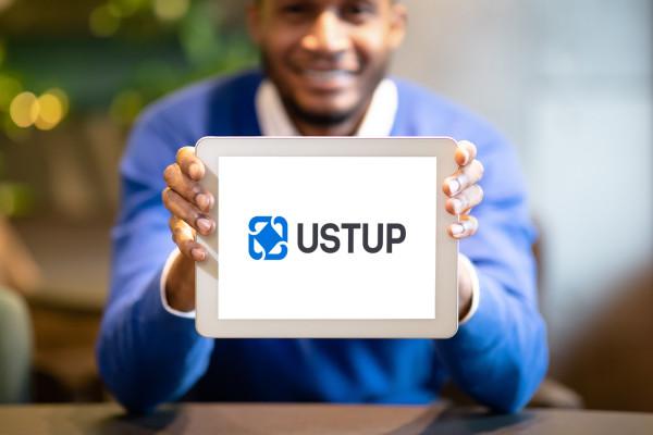 Sample branding #2 for Ustup
