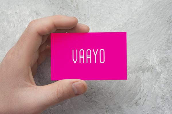 Sample branding #1 for Vaayo