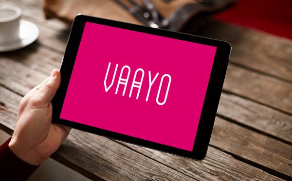 Sample branding #3 for Vaayo