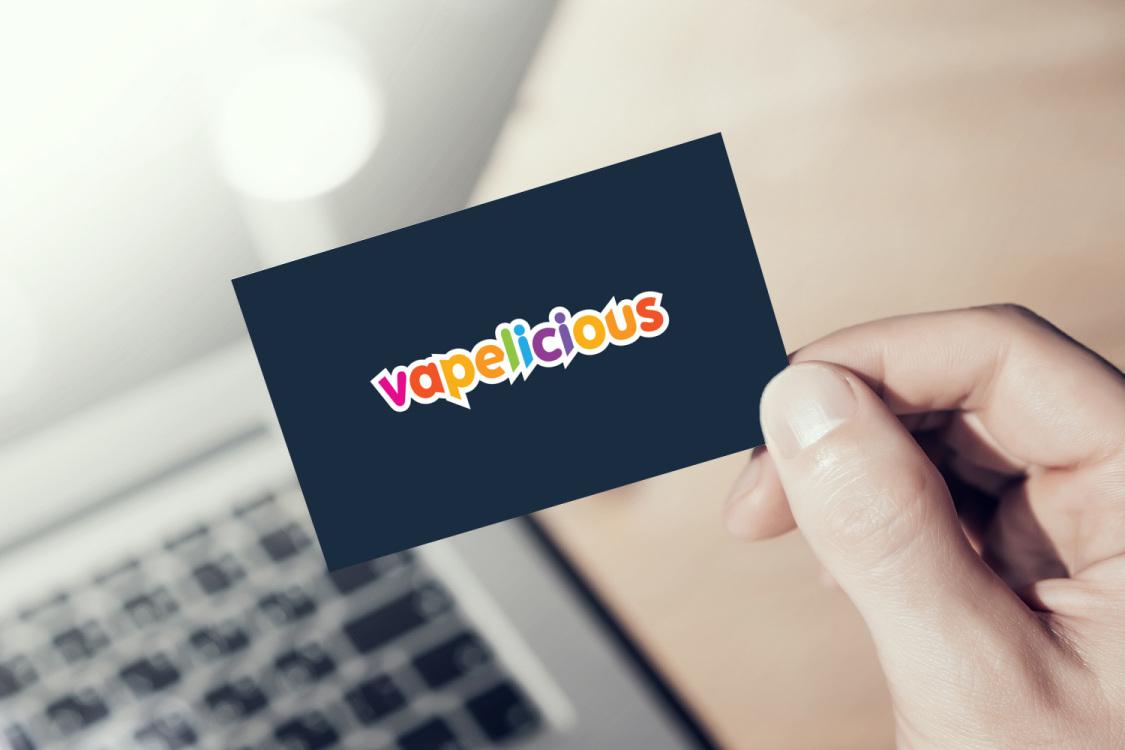 Sample branding #1 for Vapelicious