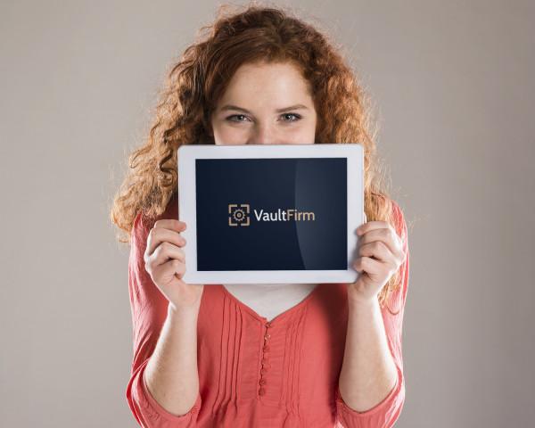 Sample branding #2 for Vaultfirm