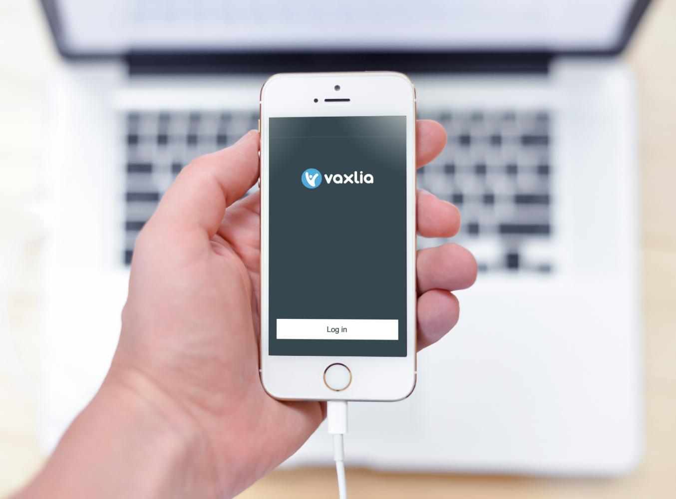 Sample branding #1 for Vaxlia