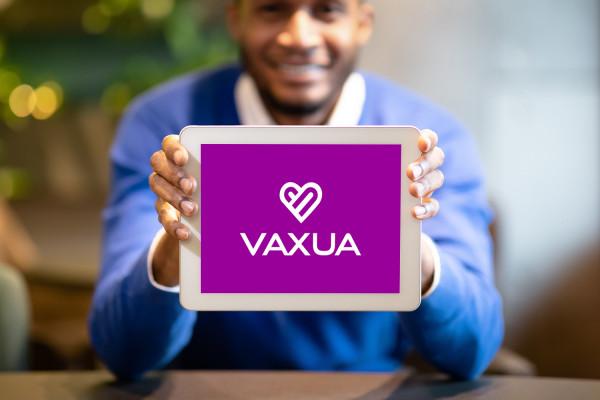 Sample branding #1 for Vaxua