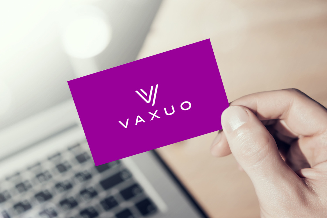 Sample branding #1 for Vaxuo
