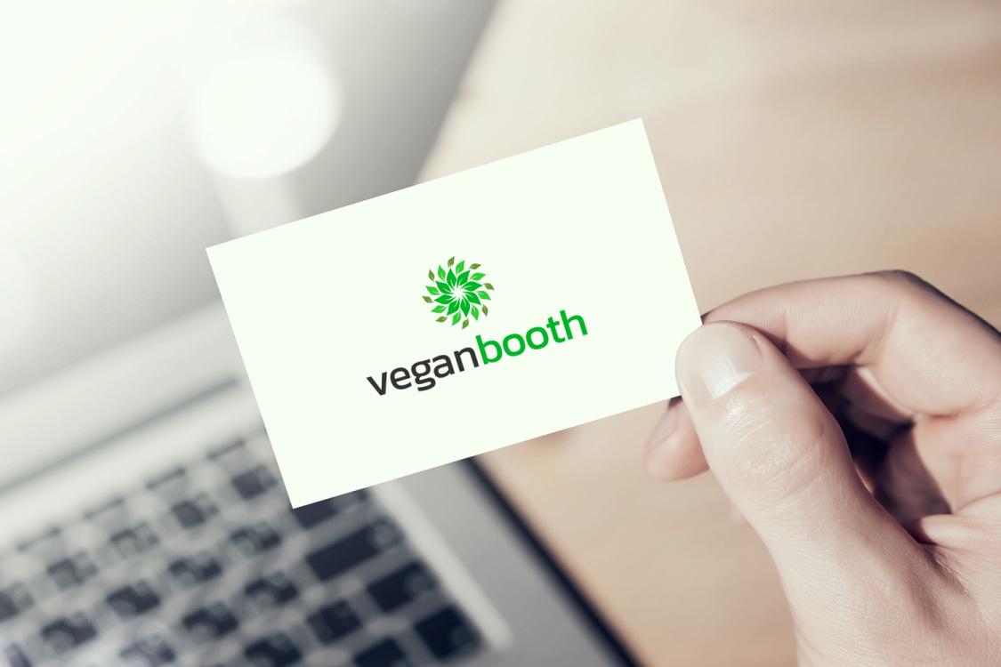Sample branding #3 for Veganbooth