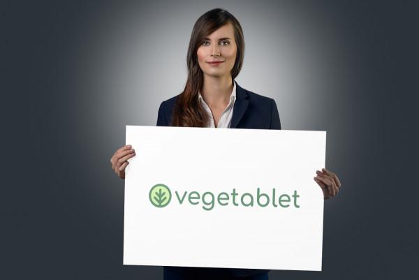 Sample branding #2 for Vegetablet