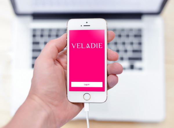 Sample branding #2 for Veladie