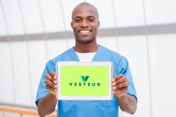Sample branding #2 for Vesteur