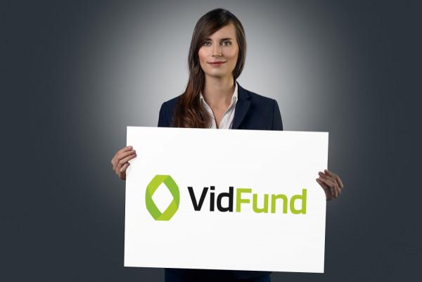 Sample branding #1 for Vidfund