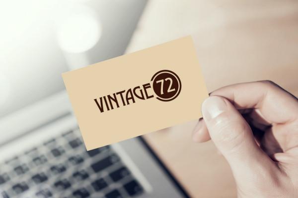 Sample branding #3 for Vintage72